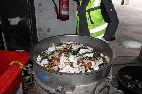 Waste sorting analysis