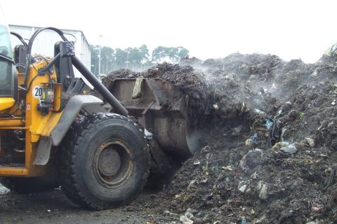 Biologische Abfälle zur Biogasproduktion