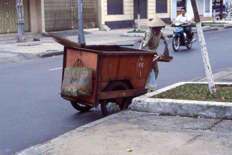 waste collection in Vietnam