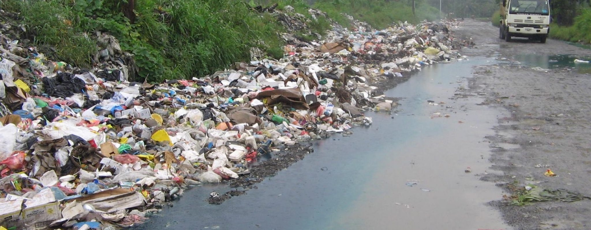 Waste contamination in PNG