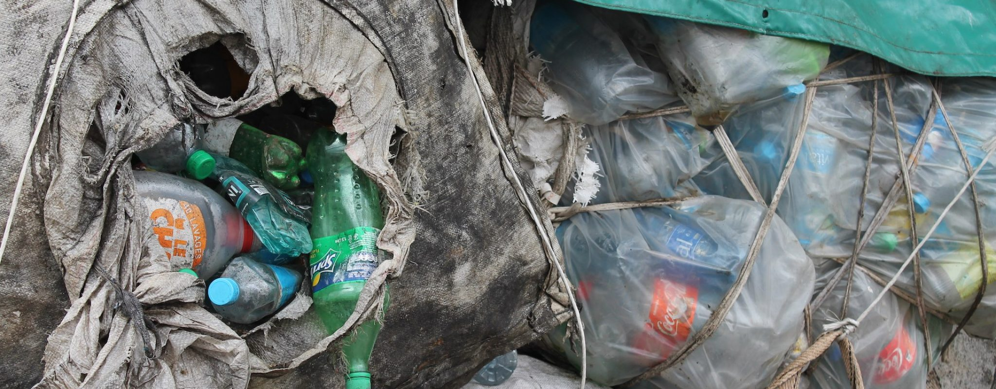 Plastic wate collection in Sierra Leone